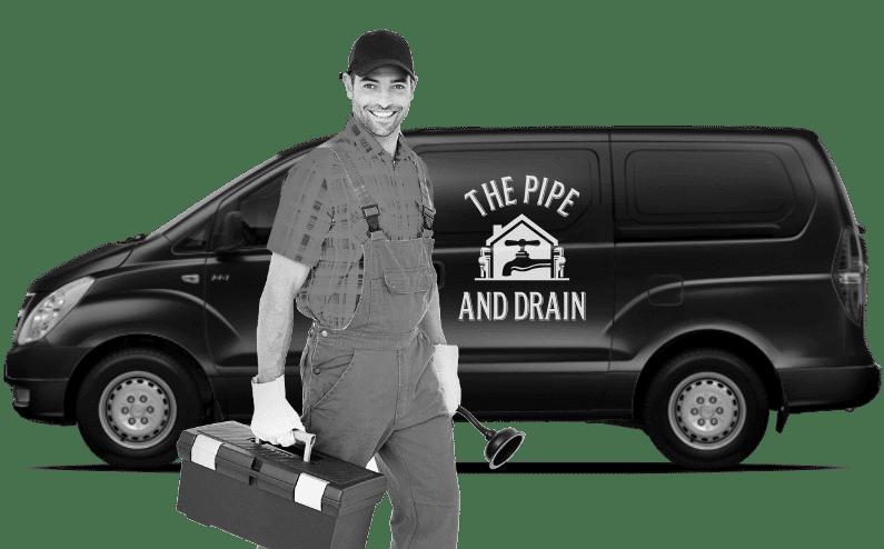 Christchurch plumber in cap arriving to do plumbing repairs